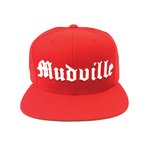 """Mudville"" Snapback (Red)"