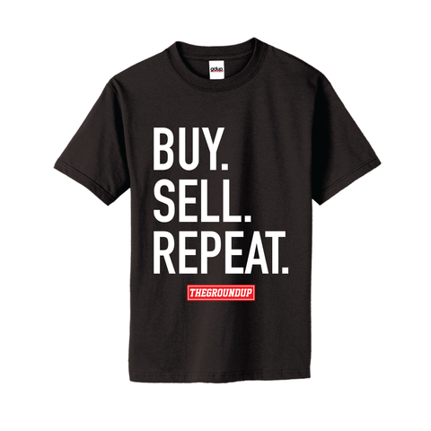 """Buy.Sell.Repeat."" Tee"