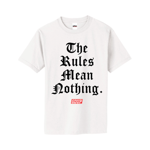 """The Rules"" Tee"