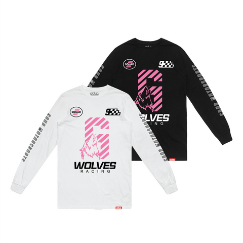 """Wolves Racing"" Long Sleeve"
