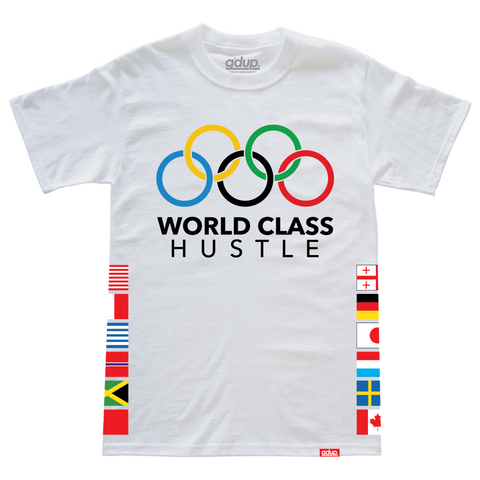 """World Class Hustle"" Tee"