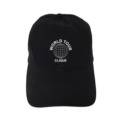 "World Tour Clique"" Unstructured Hat"