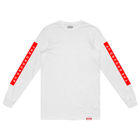 """Box Logo"" Long Sleeve Tee"