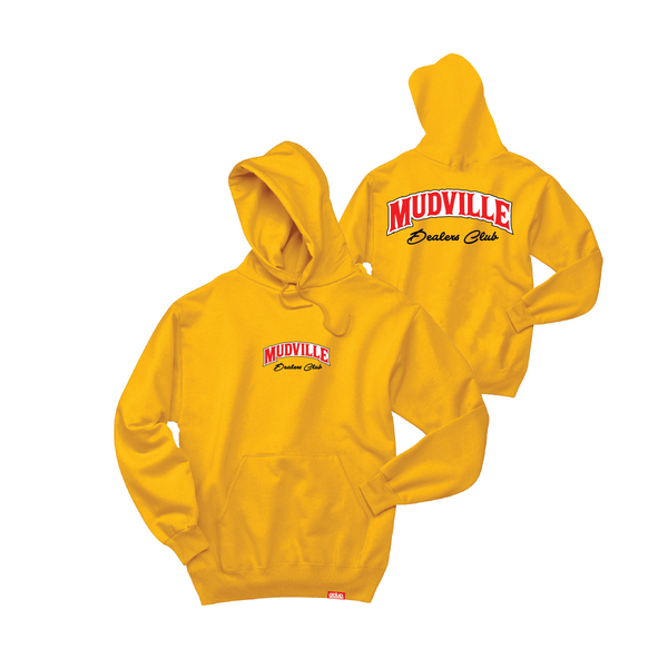"""Dealers Club"" Gold Hoodie"