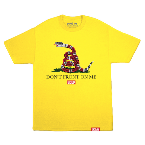 """Don't Front On Me"" Tee"