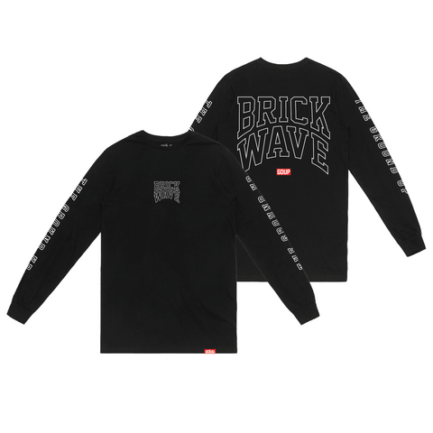 """Brick Wave"" Long Sleeve"