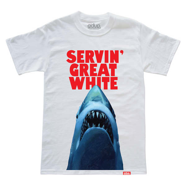 """Great White"" Tee"