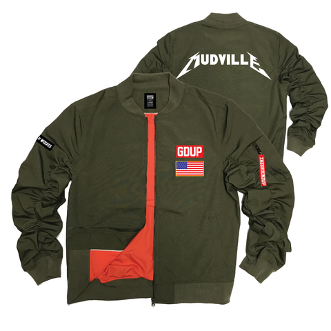 """Mudville Tour"" Flight Jacket"