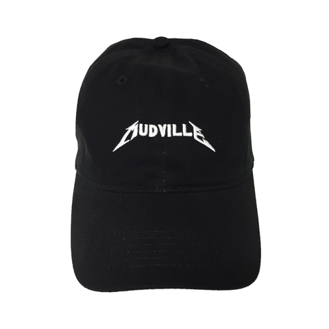 """Mudville"" Black Concert Unstructured Hat"