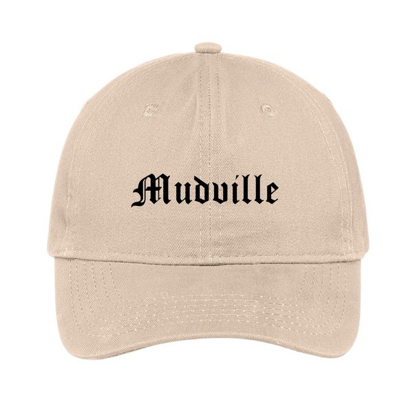"""Mudville"" Stone Unstructured Hat"