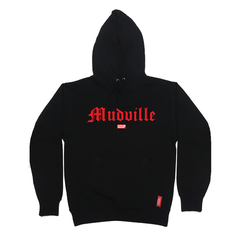 """Mudville Series"" Red Logo Hoodie *LIMITED*"