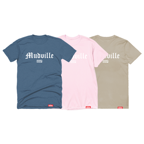 """Mudville Neutral"" Tee"