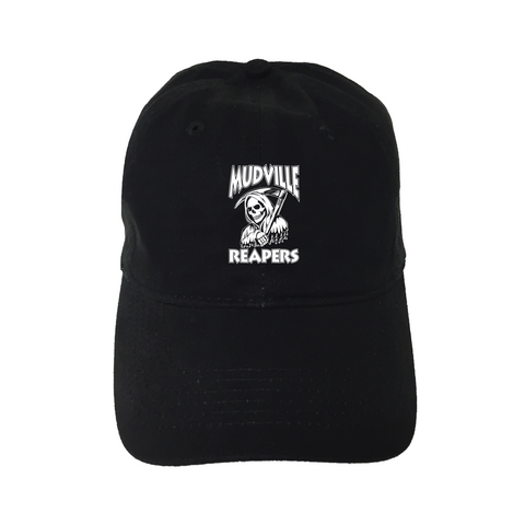 """Mudville Reapers"" Black Unstructured Hat"