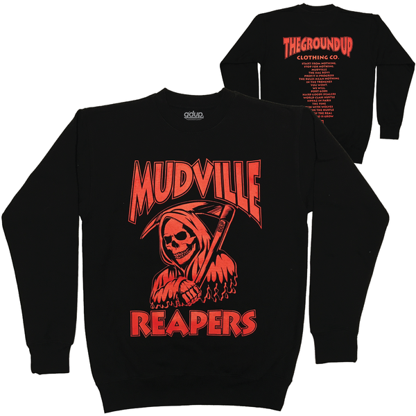 """Mudville Reapers"" Crewneck"