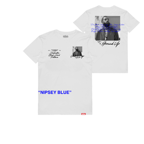 """Nipsey Blue"" Tribute Tee"