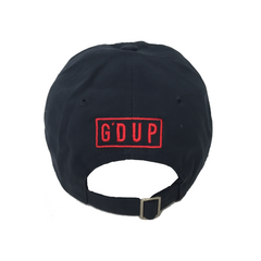 """Port Gods"" Navy Unstructured Hat"