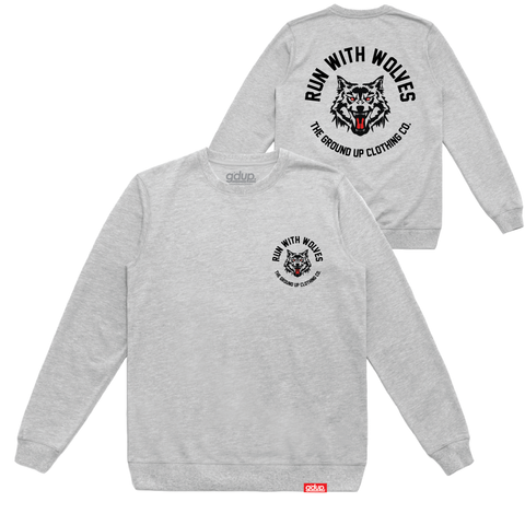 """Run With Wolves"" Crewneck"