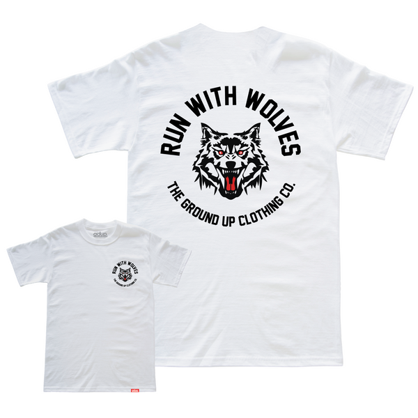 """Run With Wolves"" Tee"