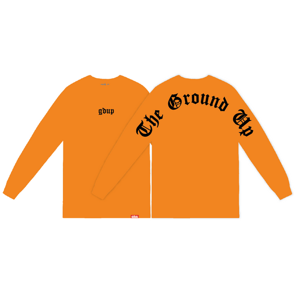 """Script"" Long Sleeve"