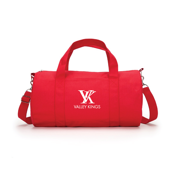 """Valley Kings"" Red Duffle Bag"