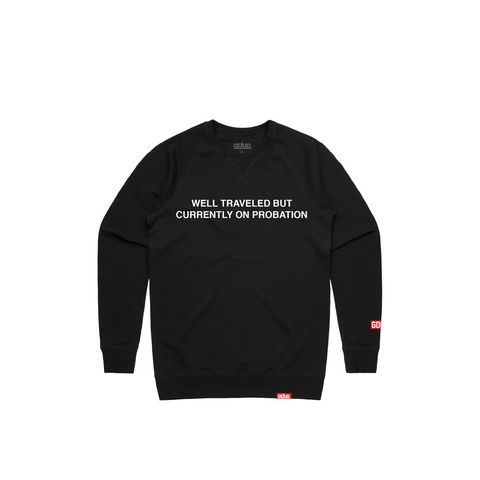 """Well Traveled"" Crewneck"