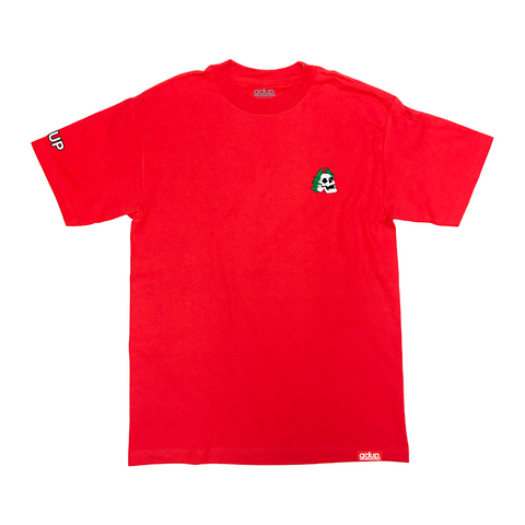 """Royal Skull"" Red Tee"