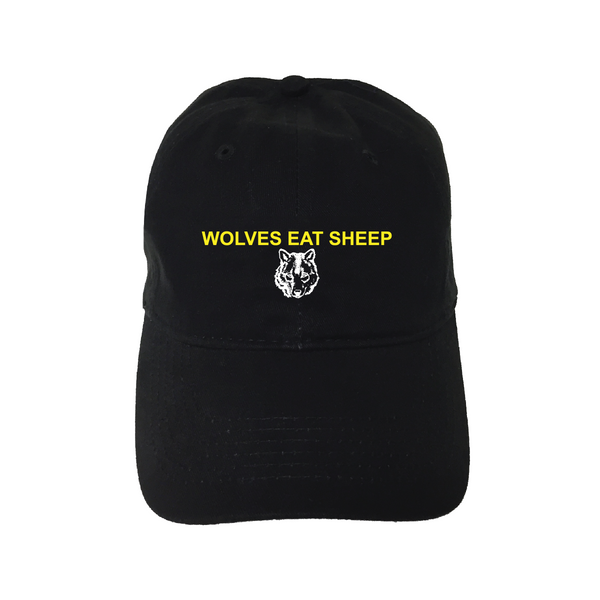 """Wolves Eat Sheep"" Unstructured Hat"