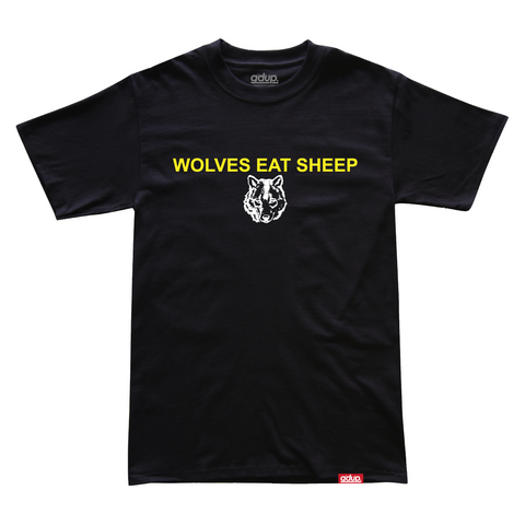 """Wolves Eat Sheep"" Tee"