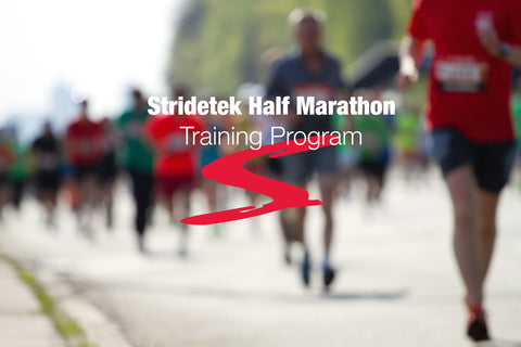 Half Marathon Training Program - Stridetek