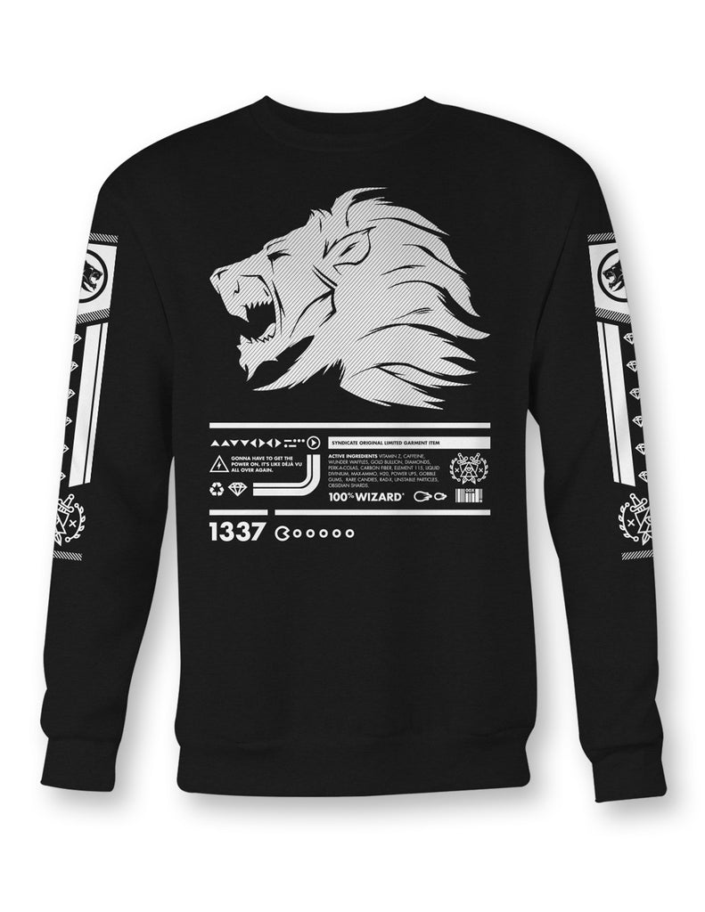"Adults ""1337"" Crewneck"