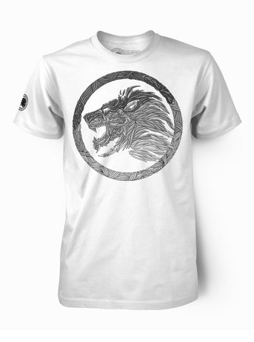"Mens ""ROAR"" White & Blue"
