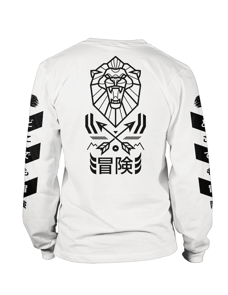 "Mens ""Venture"" Long Sleeved Top White"
