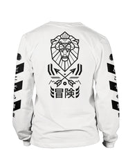 """Venture"" Long Sleeved Top White"