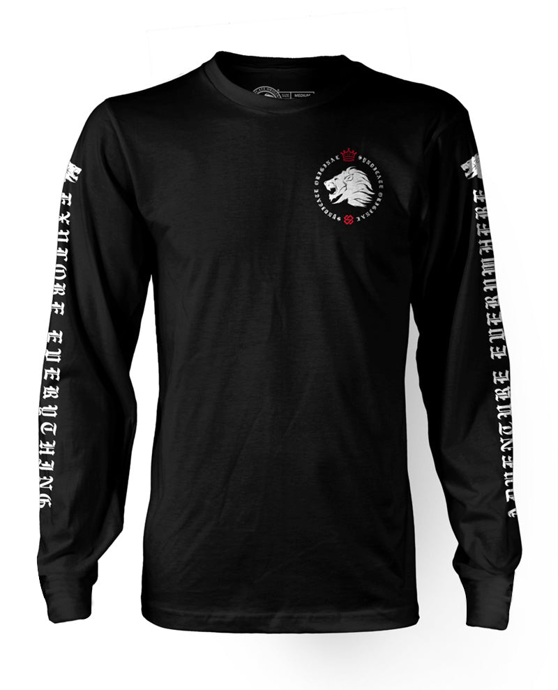 "Mens ""Coat of Arms"" Long Sleeved Top"