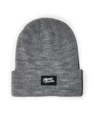 Logo Cuff Beanie Light Grey