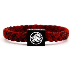 Red Marl Wristband