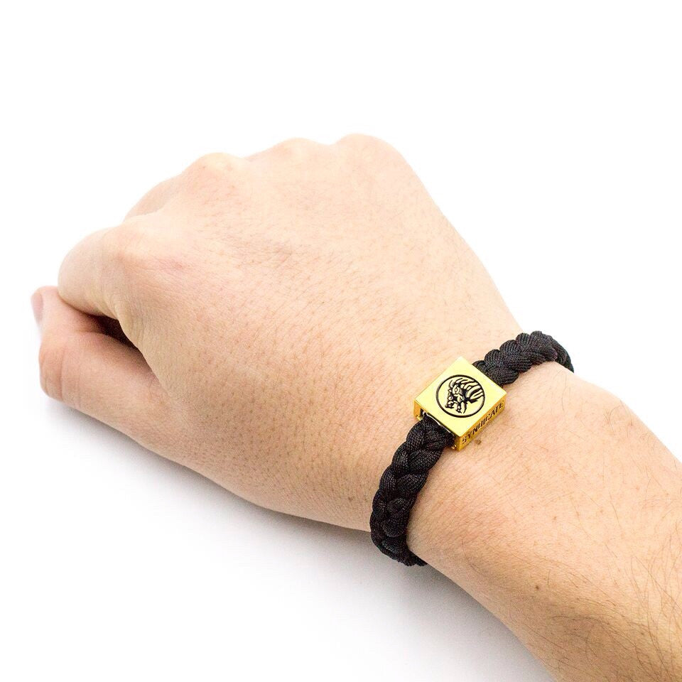 Black / Gold Wristband