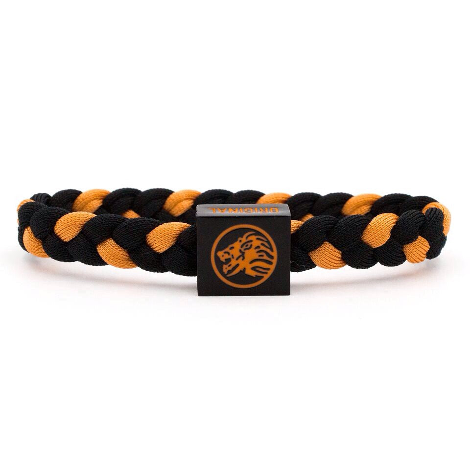 Black / Orange Wristband