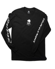 """Discovery"" Long Sleeved Top Black"