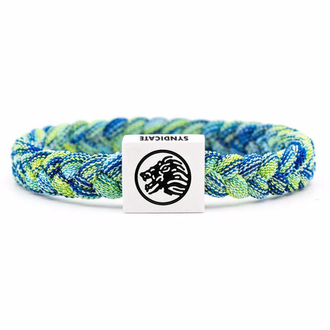 Black / Blue Wristband