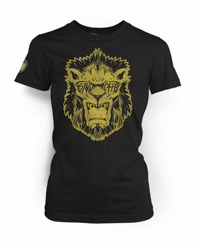 "Men's ""Riot Lion"" Limited Edition Gold 2017"