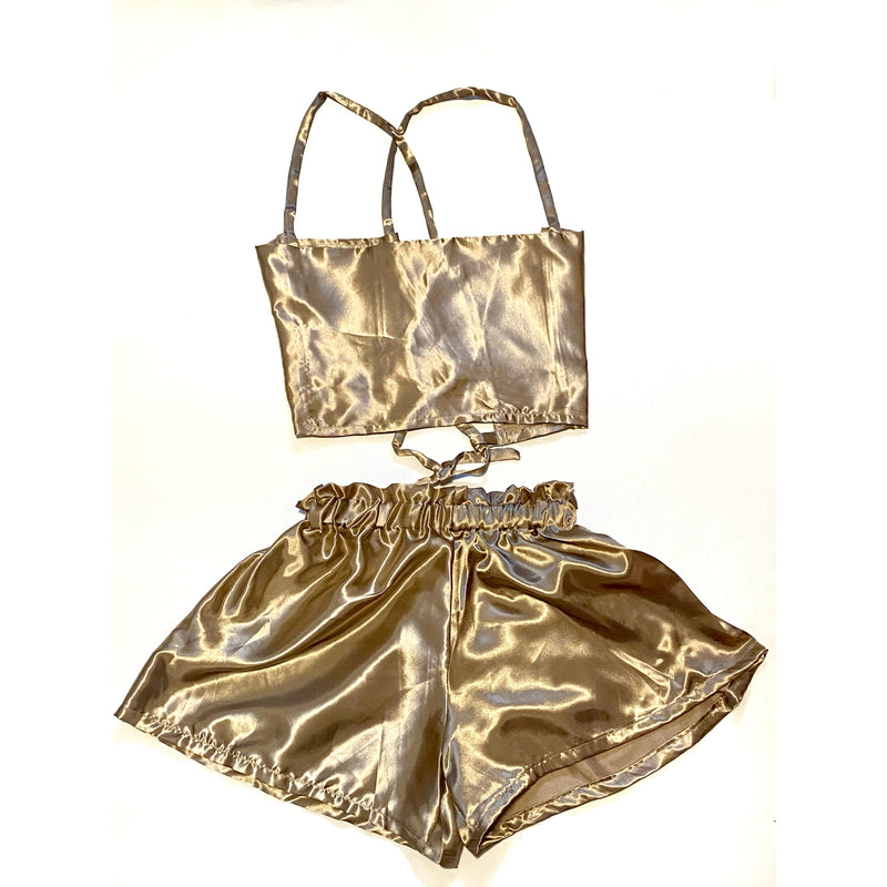 CHAMPAGNE MAMMI TWO PIECE SET - Lovelee Designs
