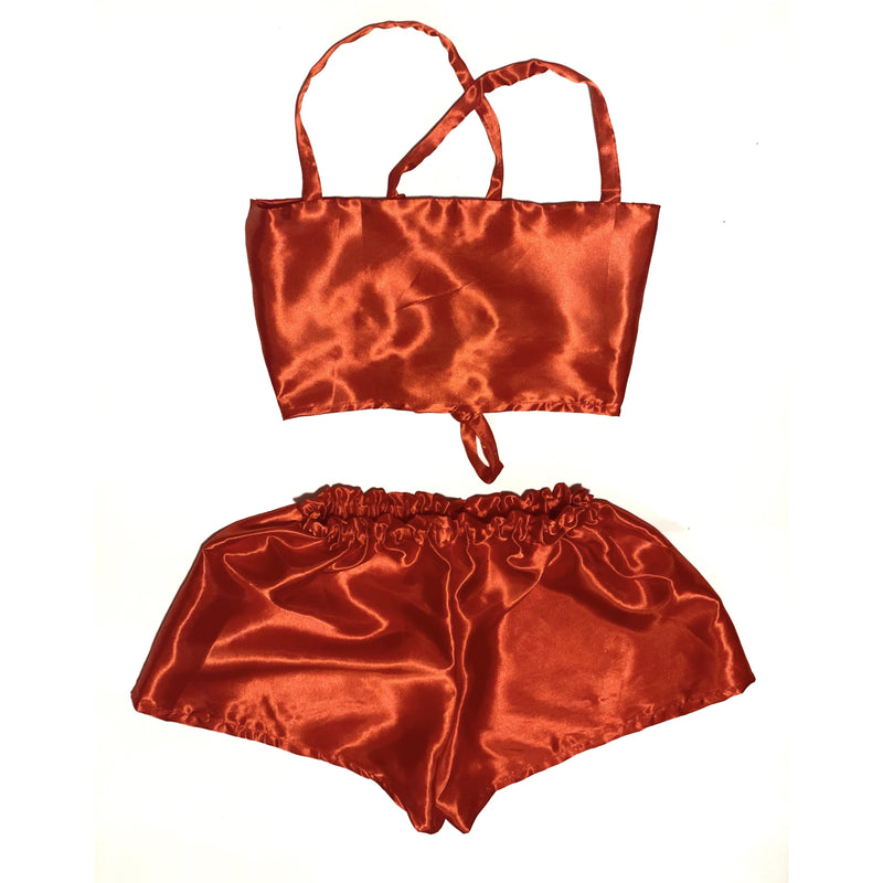BIG RED TWO PIECE SET - Lovelee Designs