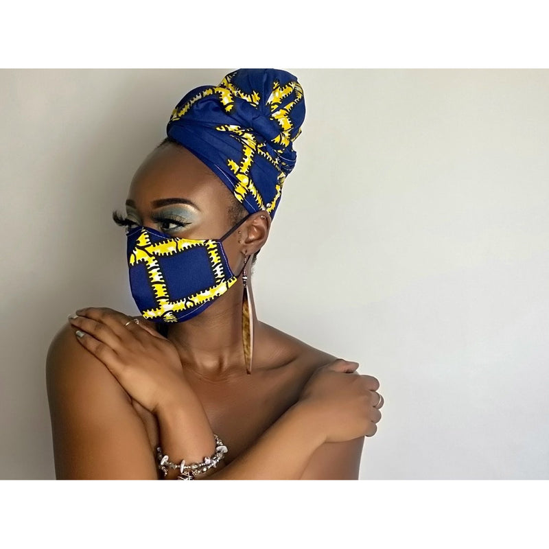 MATCHING HEADWRAPS & FACE MASKS