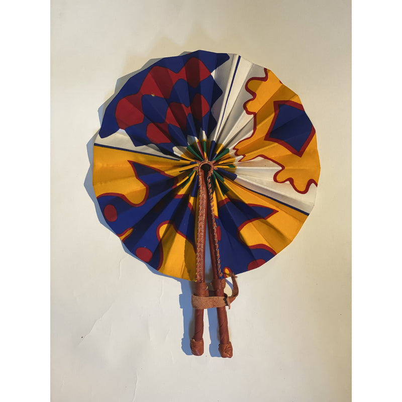 AFRICAN PRINT FANS