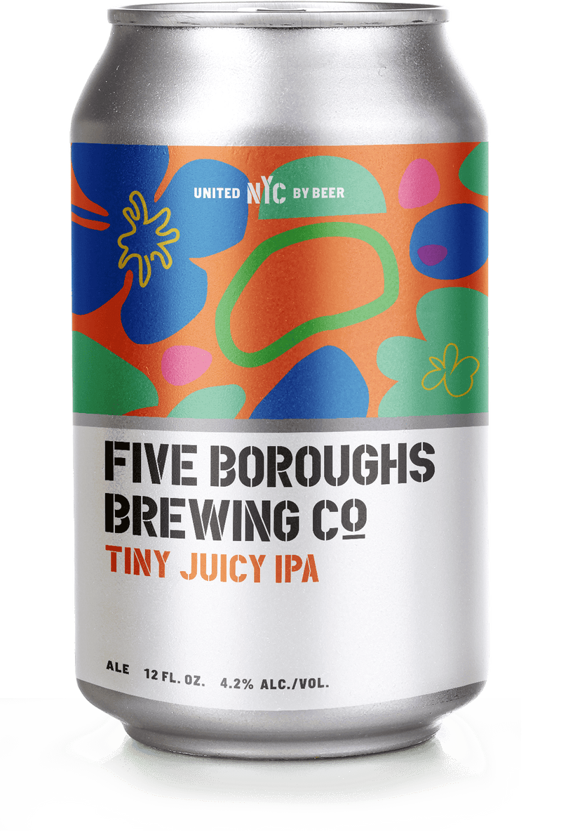 Five Boroughs Brewing Tiny Juicy IPA