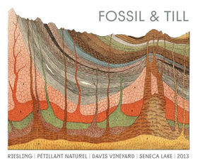 Fossil & Till, Seneca Lake Pet-Nat Riesling (2019)