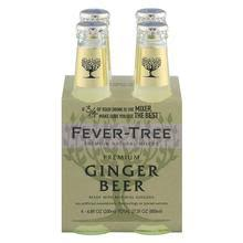 FEVER-TREE GINGER BEER 4 Bottle  6.7OZ