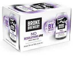 Bronx Brewery No Resolutions IPA