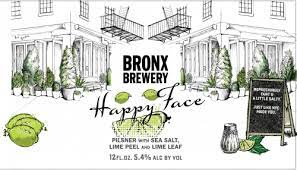 Bronx Brewery Happy Face